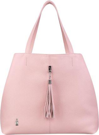 c21d962869ffc4 Torebka damska worek shopper MILTON ML02 różowa - Różowy - Ceny i ...