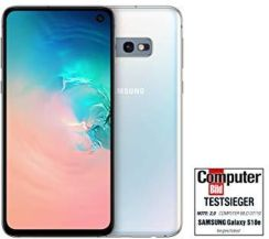 Amazon Samsung Galaxy S10e 128 GB Dual SIM Canary Yellow DE Version-P-DE, wersja niemiecka, 128gb