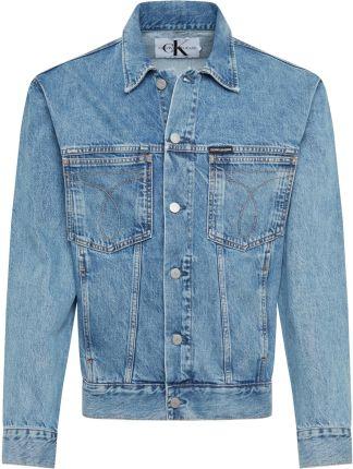 b252c8c6b75c2 Calvin Klein Jeans Kurtka przejściowa 'OVERSIZED ICONIC OMEGA TRUCKER' ...