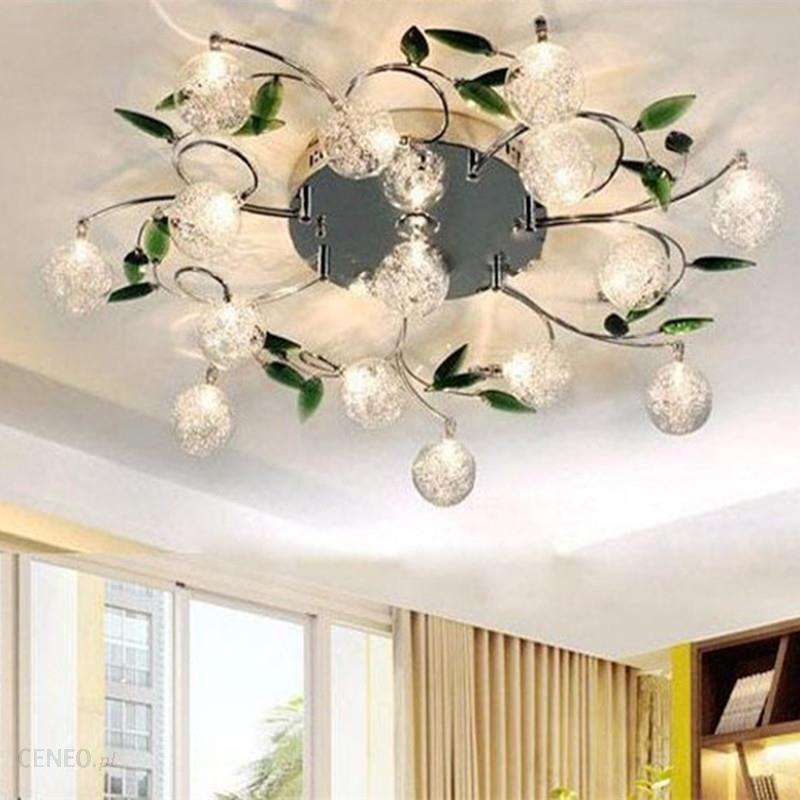 Aliexpress Nowoczesne Lampy Sufitowe Crystal Led Sufitu światła Oprawa Kwiat Abażur Sypialnia Balkon Lustre Oprawa Oświetlenie Domu Ceneopl