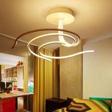 Aliexpress Nowoczesne Lampy Sufitowe Led Akrylowe Salon Luminarias Sypialni Oświetlenie Kuchni Eclairage Plafonnier Lampy Flushmount Oświetlenie