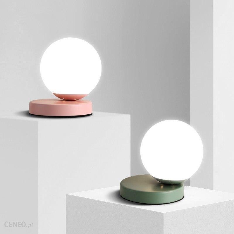 Aliexpress Nowoczesne Lampy Stołowe Szklanej Kuli Biurko Lampy Sypialnia Lampki Nocne Lampy Study Room Oświetlenie Czytanie Lampy Led Ball Lights Tabe