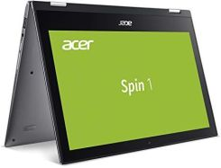 Amazon Acer Spin 1 (SP111-32N-P1PR) 29,5 cm (11,6 cala Full HD IPS) Convertible Notebook, szary