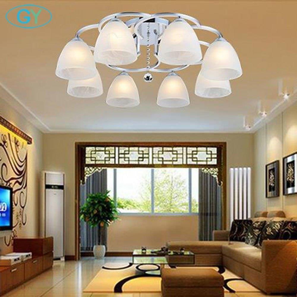 Aliexpress Nowy Nowoczesne Lampy Sufitowe 134568 Szkła Abażury Lampy Salon Sypialnia Kuchnia Oświetlenie Sufitowe Lampa Domowa Ceneopl