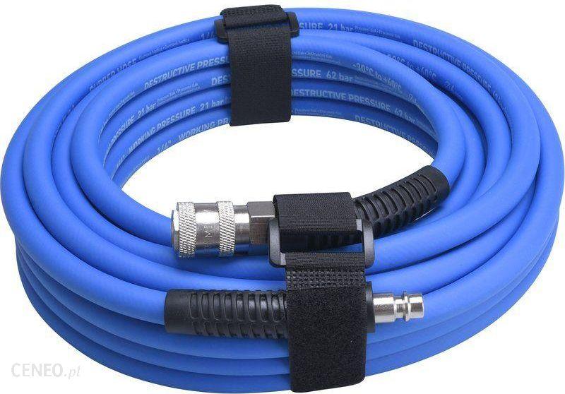 dd3fea91ecb34b Akcesoria do narzędzi pneumatycznych Extol Premium Wąż Pneumatyczny Gumowy  Z Szybkozłączkami 1/2
