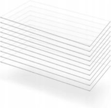 Przezroczyste Płyty Akrylowe 10 Szt 60 X 120 Cm
