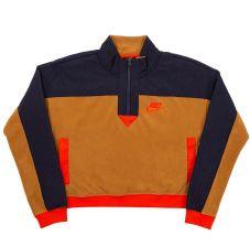 Bluza Damska Nike WMNS NSW Half Zip Polar Top Muted BronzeObsidian (938963 255) Ceny i opinie Ceneo.pl