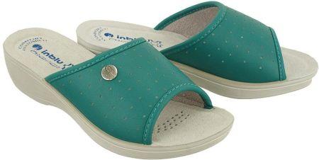 b4c3c2586fe91 Klapki damskie japonki gumowe niebieskie ZAXY Fresh Trip - niebieski ...