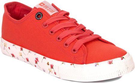 another chance 377dc 45575 Trampki Big Star DD274709 Czerwone - Czerwony    Kolorowy