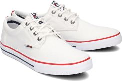 965f649f67366 Tommy Hilfiger Sneaker - Trampki Męskie - EM0EM00001 100 - Biały