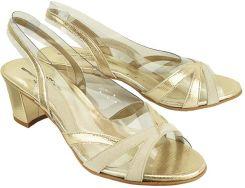 fb666d7f502c7 Brenda Zaro T2111A złoty, sandały damskie - Złoty