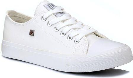 Trampki damskie Big Star r.38 białe white AA274010 Ceny i