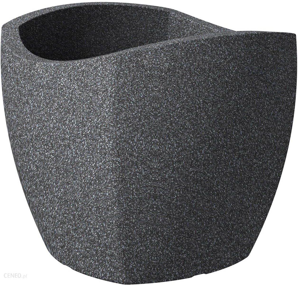 Scheurich Donica Wave Globe Cubo Granit śr 50cm