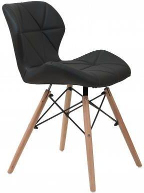 Meblemwm Krzesło Skandynawskie Art118 Czarne Opinie i