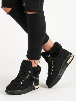 7cc43337cf116 Sneakersy damskie Big Star V274938 czarne 38 czarny - Ceny i opinie ...