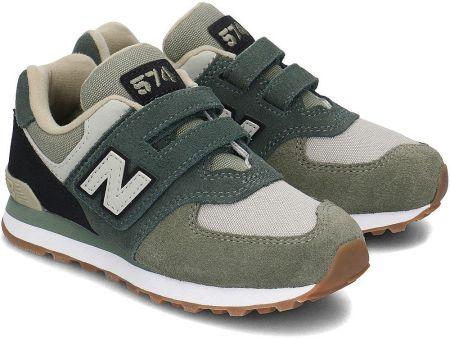 ed17df40cbded New Balance 574 - Sneakersy Dziecięce - YV574MLD - Zielony. Kup teraz. Buty  ...
