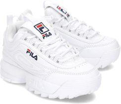 Fila Disruptor Sneakersy Dziecięce 1010567.1FG Biały Ceny i opinie Ceneo.pl