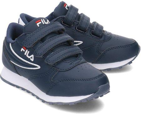 a4be9b075ae60 Fila Orbit Velcro Low - Sneakersy Dziecięce - 1010350.21G - Granatowy. Kup  teraz. Buty sportowe FilaFila Orbit Velcro Low ...