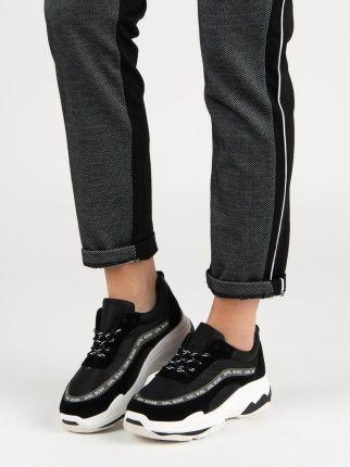 a1ca161c Ażurowe trampki sneakersy na koturnie SZAMPAŃSKIE - Ceny i opinie ...