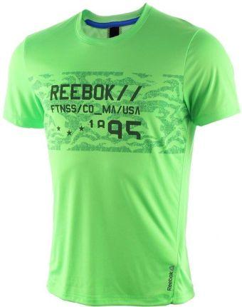 0f87714b4903a koszulka sportowa męska REEBOK WORKOUT READY GRAPHIC TECH TOP   AJ2906