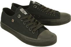 886c395b92e73 BIG STAR AA274009 czarny, półtrampki młodzieżowe - Czarny