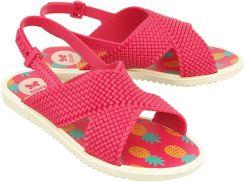 f95c1df748383 ZAXY 82317 FASHION SANDAL KIDS 22551 różowy, sandały dziecięce, rozmiary:  25-35