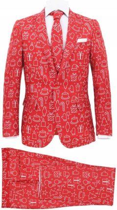d75f5b12f5523 Świąteczny garnitur męski z krawatem, 2-częściowy - Ceny i opinie ...