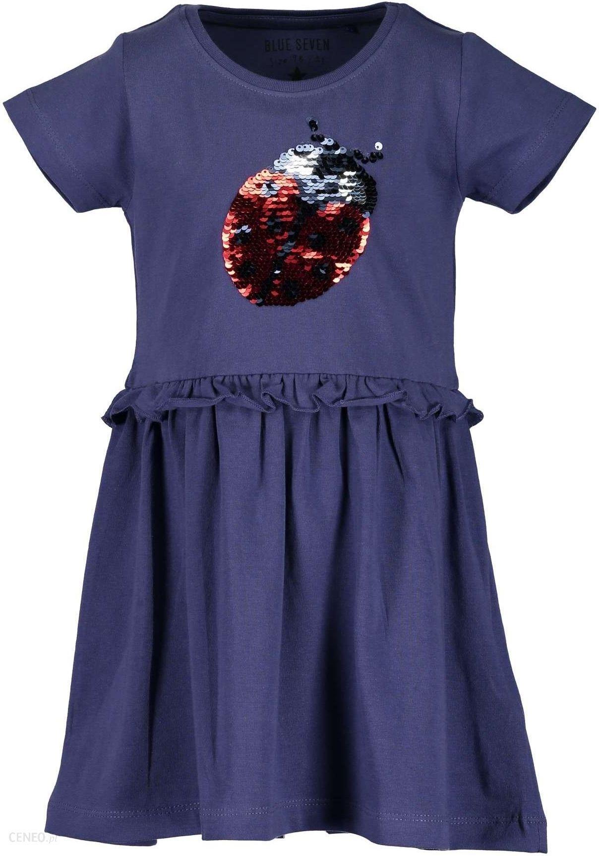 c5dffcb586 Blue Seven sukienka dziewczęca z cekinami 98 niebieska - Ceny i ...