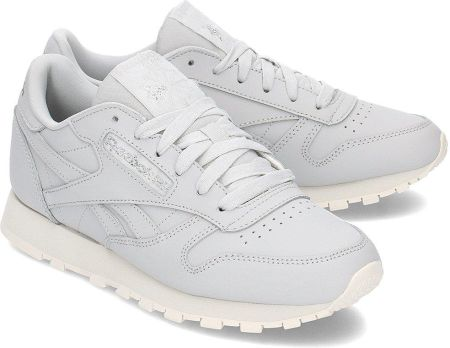 eae25c298 Buty damskie sneakersy Reebok Classic Leather NBK CM8765 - SZARY ...