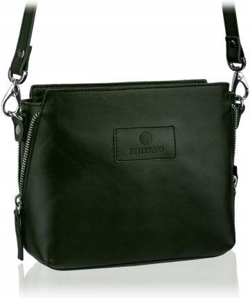 85537b5c81355 Skórzana torba mała na ramię listonoszka Betlewski - Ceny i opinie ...