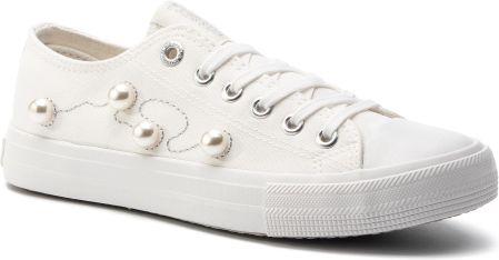 Converse białe trampki na platformie Chuck Taylor All Star Lift Ox WhiteBlack 39,5 Ceny i opinie Ceneo.pl