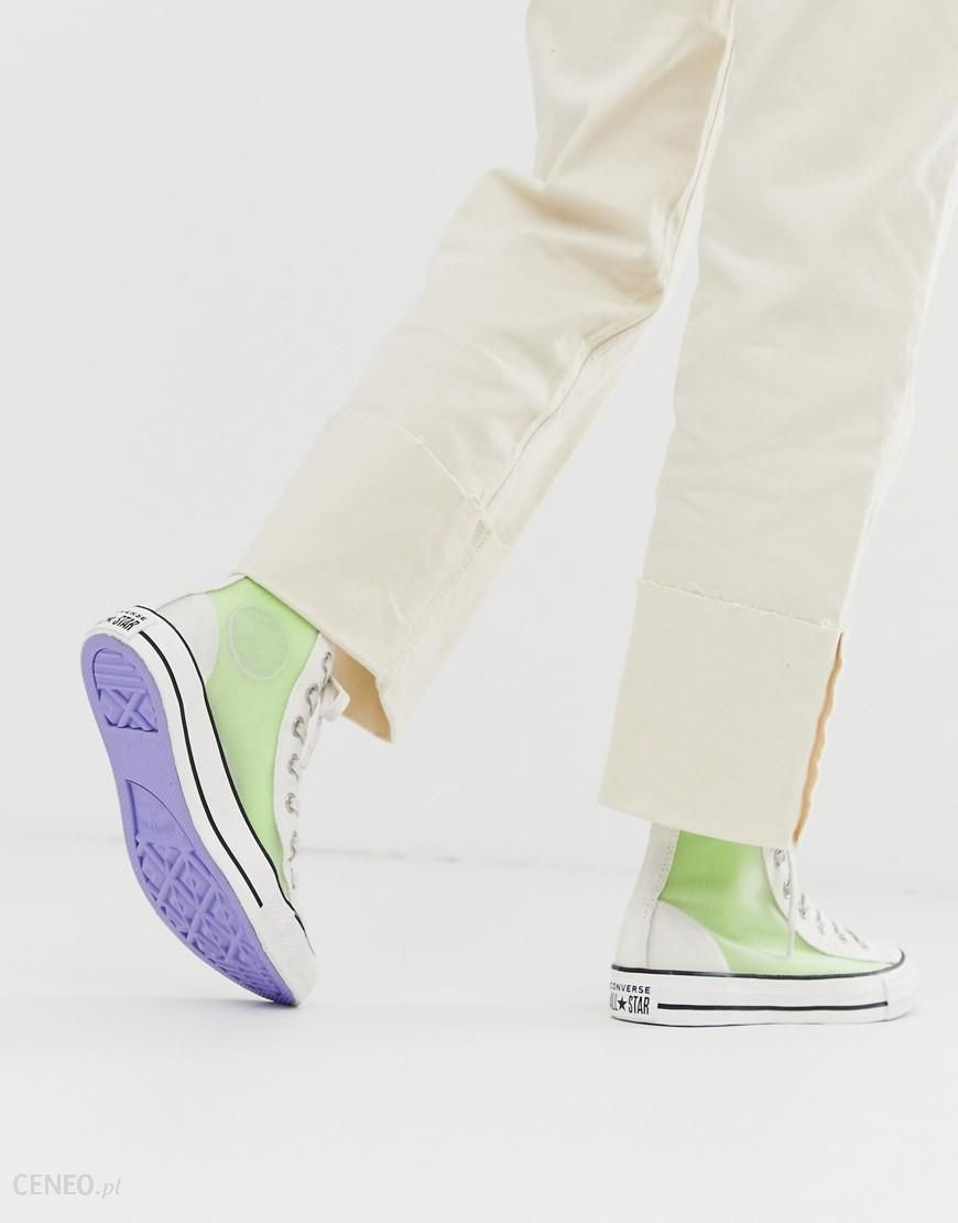 Converse All Star High Top White Trainers White Ceneo.pl