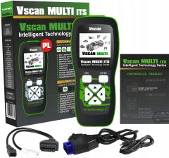 VIaken Interfejs Skaner Vscan MULTI ITS 2w1 VAG + OBD2 PL