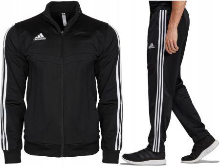 3f50f0c6c Dres Komplet Męski Adidas Spodnie Bluza Czarny XL Allegro