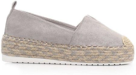 9f764e2cdfbd1 Podobne produkty do TOMMY HILFIGER GIGI HADID LACE UP ESPADRILLE. Szare  Espadryle Summer Meadow born2be