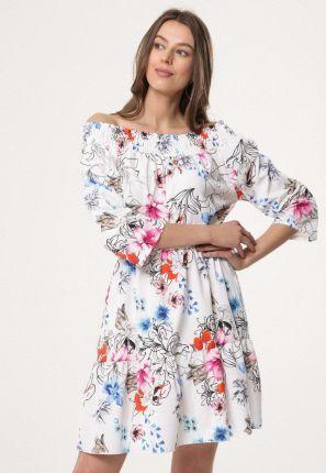 b224ce8f25 Białe Sukienki Klasyczne wiosna 2019 - Ceneo.pl