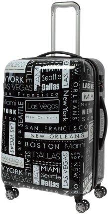 6678f5e9858a5 IT Luggage Imprint średnia walizka poszerzana 65,5 cm / Location Names -  Location Names Allegro