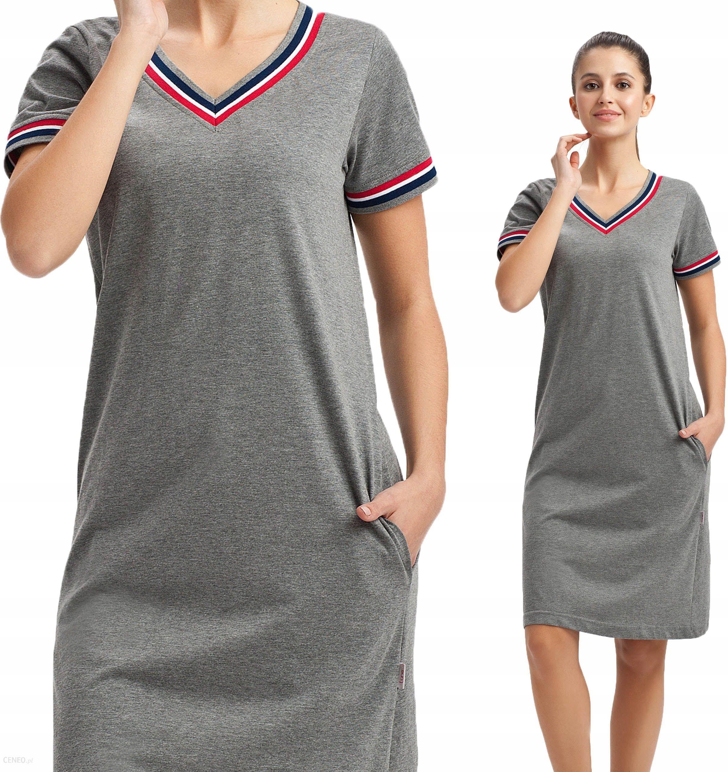 0c2cac67dab2b8 248 Luna koszulka nocna do kolan z kieszeniami - Ceny i opinie ...