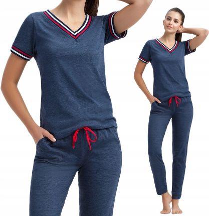 1c0e5e5b381bb7 428 Luna piżama damska dresowa sportowa z bawełny