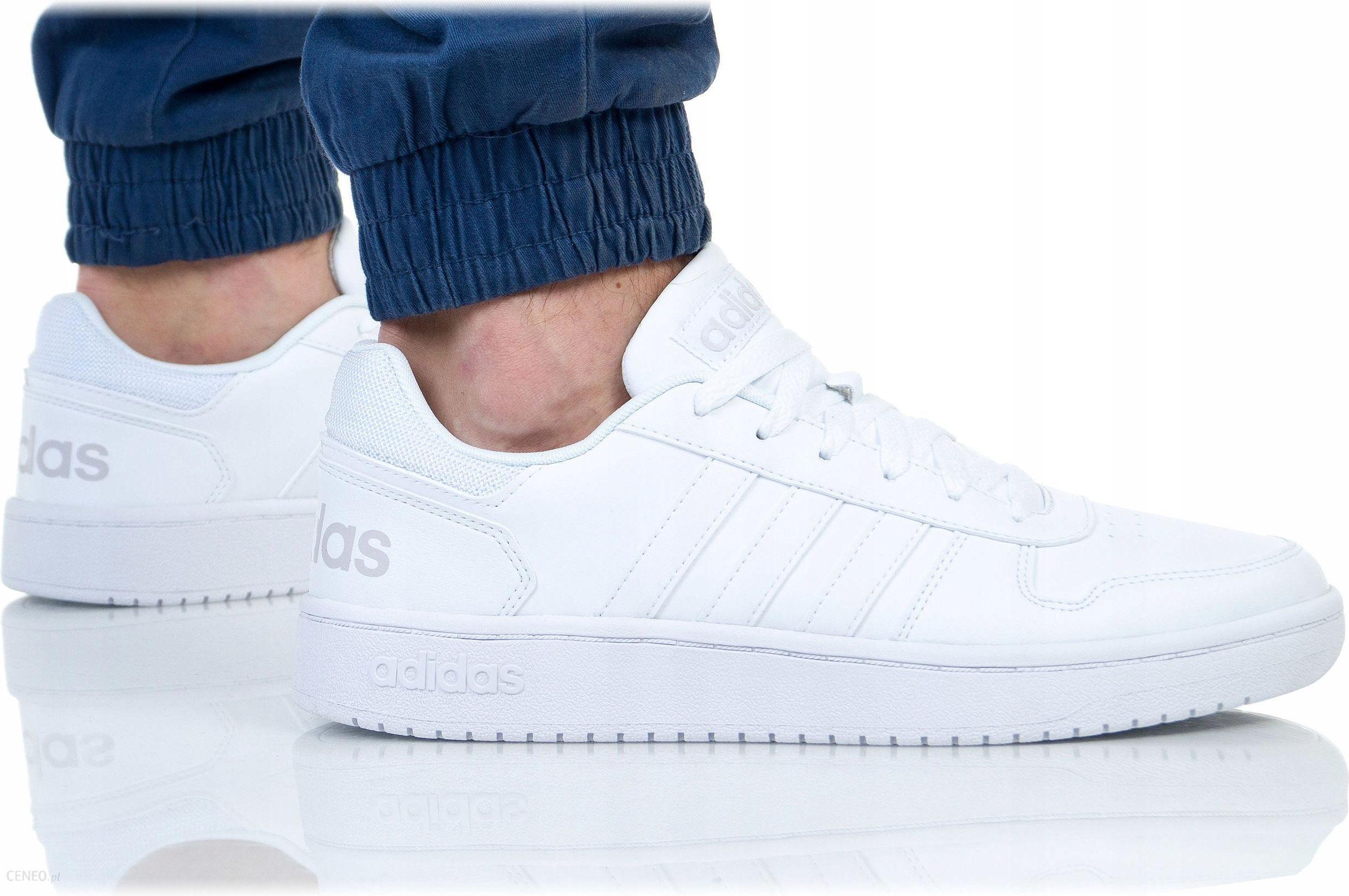 Buty Adidas Męskie Hoops 2.0 DB1085 Białe Ceny i opinie Ceneo.pl