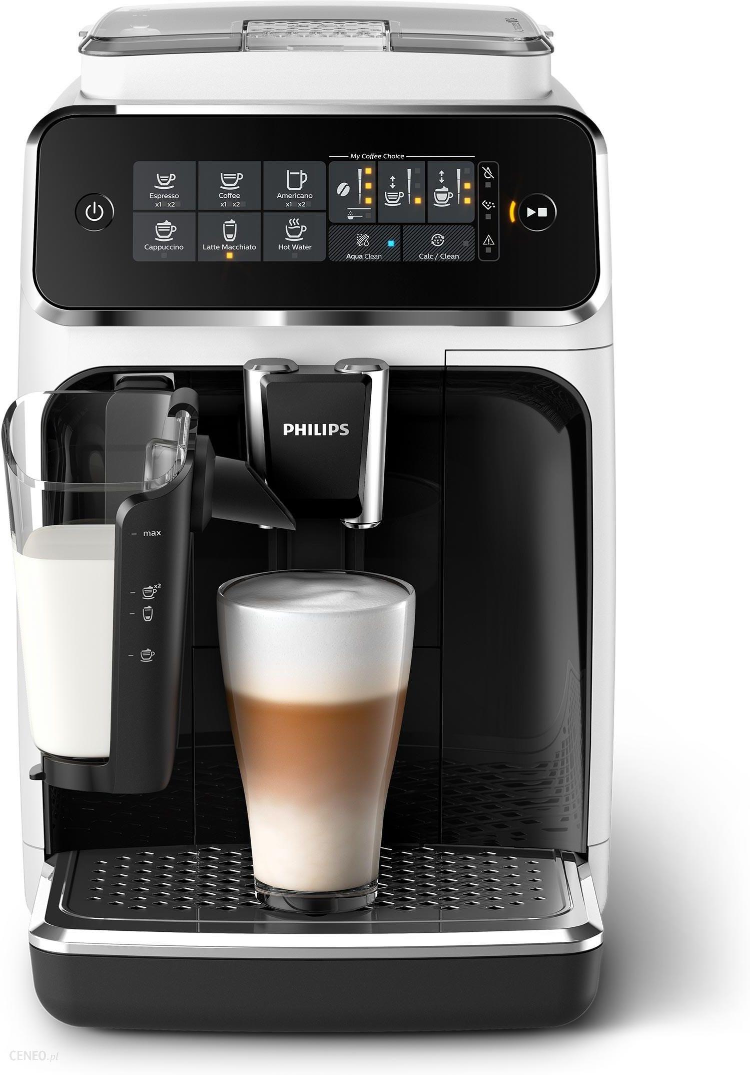 Ekspres Philips 3200 LatteGo Premium EP3243/50 biały