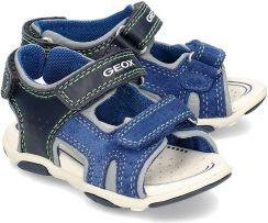 8ed74738 Geox Baby San. Agasim - Sandały Dziecięce - B921AB 08522 C4226 - Niebieski