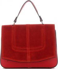 e81a5f1b1e5d2 Vittoria Gotti Firmowe Torebki Skórzane Klasyczny Kuferek Listonoszka Made  in Italy Czerwone (kolory) ...