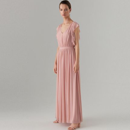 109c078ae3 Mohito - Szyfonowa maxi sukienka Celebration - Różowy Mohito