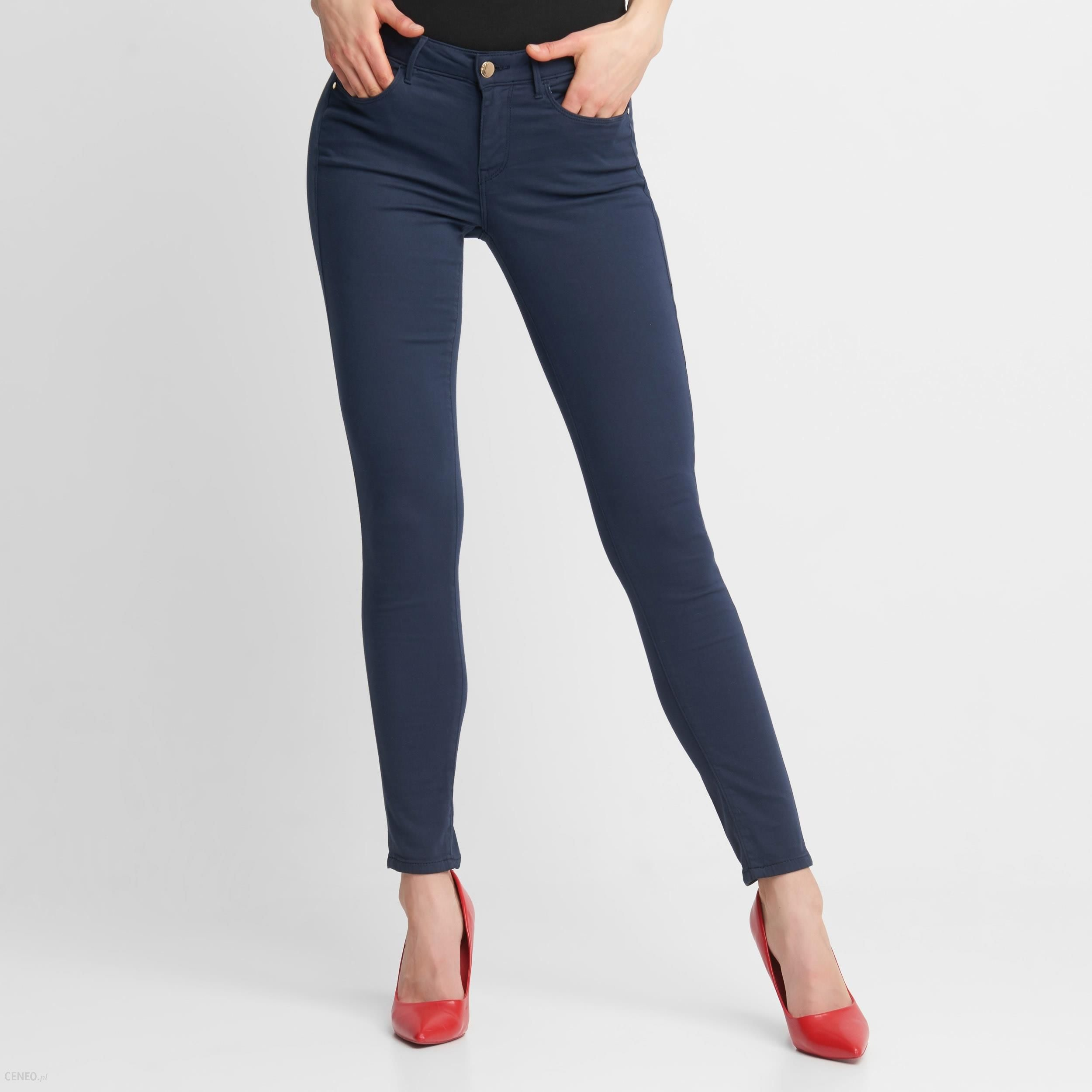 damskie jegging spodnie guess