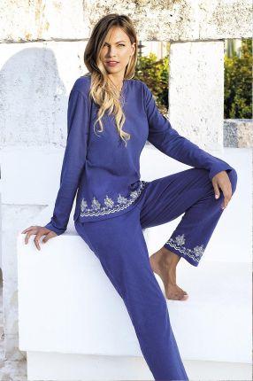 36c5691a73 Jadea Damski letni komplet Santorini niebieski niebieski L