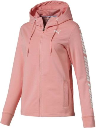 3f08136752 Bluza damska Puma Modern Sports Hooded Jacket brzoskwiniowa 854239 19