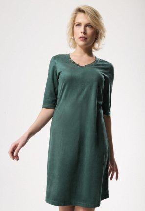 114 3 Sukienka z koła dekolt w kształcie serca marciano