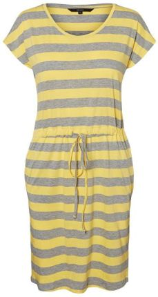 48f02dd7f4 Vero Moda Sukienka damska April SS Short Dress GA Noos Yarrow Stripe s  (rozmiar S