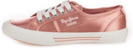 5eb7624c1e035 Pepe Jeans tenisówki damskie Adams Velour 38 różowy - Ceny i opinie ...